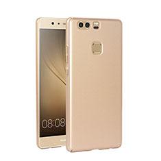 Schutzhülle Kunststoff Tasche Matt für Huawei P9 Gold