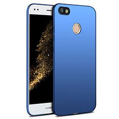 Schutzhülle Kunststoff Tasche Matt für Huawei Y6 Pro (2017) Blau