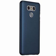 Schutzhülle Kunststoff Tasche Matt für LG G6 Blau