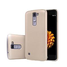 Schutzhülle Kunststoff Tasche Matt für LG K7 Gold