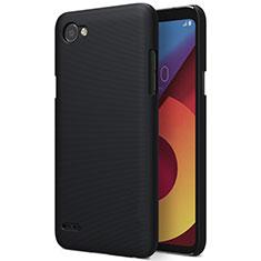 Schutzhülle Kunststoff Tasche Matt für LG Q6 Schwarz