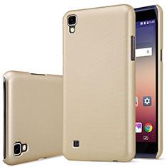 Schutzhülle Kunststoff Tasche Matt für LG X Power Gold