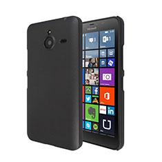 Schutzhülle Kunststoff Tasche Matt für Microsoft Lumia 640 XL Lte Schwarz