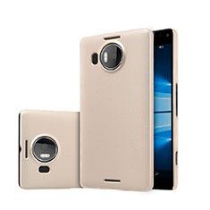Schutzhülle Kunststoff Tasche Matt für Microsoft Lumia 950 XL Gold