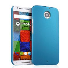 Schutzhülle Kunststoff Tasche Matt für Motorola Moto X (2nd Gen) Hellblau