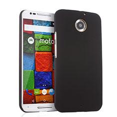 Schutzhülle Kunststoff Tasche Matt für Motorola Moto X (2nd Gen) Schwarz