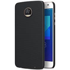Schutzhülle Kunststoff Tasche Matt für Motorola Moto Z2 Play Schwarz