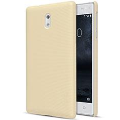 Schutzhülle Kunststoff Tasche Matt für Nokia 3 Gold