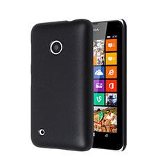 Schutzhülle Kunststoff Tasche Matt für Nokia Lumia 530 Schwarz