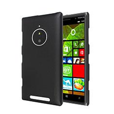 Schutzhülle Kunststoff Tasche Matt für Nokia Lumia 830 Schwarz