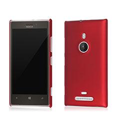 Schutzhülle Kunststoff Tasche Matt für Nokia Lumia 925 Rot