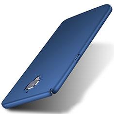 Schutzhülle Kunststoff Tasche Matt für OnePlus 3 Blau