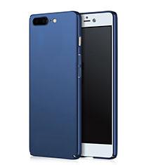 Schutzhülle Kunststoff Tasche Matt für OnePlus 5 Blau