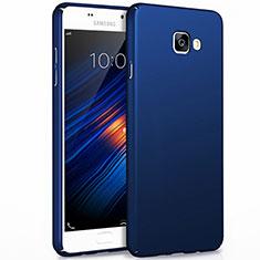 Schutzhülle Kunststoff Tasche Matt für Samsung Galaxy A7 (2017) A720F Blau