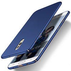 Schutzhülle Kunststoff Tasche Matt für Samsung Galaxy C7 (2017) Blau