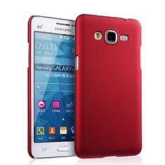 Schutzhülle Kunststoff Tasche Matt für Samsung Galaxy Grand Prime 4G G531F Duos TV Rot