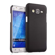 Schutzhülle Kunststoff Tasche Matt für Samsung Galaxy J5 SM-J500F Schwarz