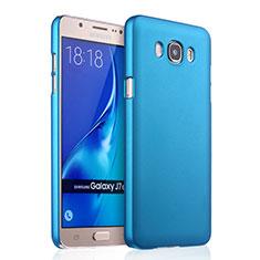 Schutzhülle Kunststoff Tasche Matt für Samsung Galaxy J7 (2016) J710F J710FN Hellblau