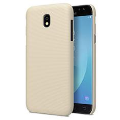 Schutzhülle Kunststoff Tasche Matt für Samsung Galaxy J7 Pro Gold