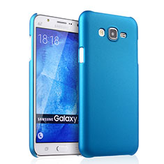Schutzhülle Kunststoff Tasche Matt für Samsung Galaxy J7 SM-J700F J700H Hellblau