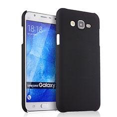 Schutzhülle Kunststoff Tasche Matt für Samsung Galaxy J7 SM-J700F J700H Schwarz