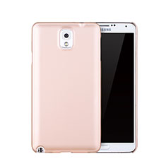 Schutzhülle Kunststoff Tasche Matt für Samsung Galaxy Note 3 N9000 Rosegold