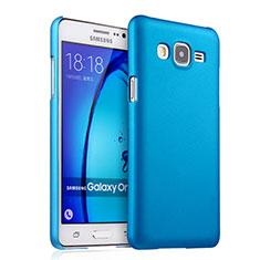 Schutzhülle Kunststoff Tasche Matt für Samsung Galaxy On7 Pro Hellblau