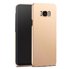 Schutzhülle Kunststoff Tasche Matt für Samsung Galaxy S8 Plus Gold