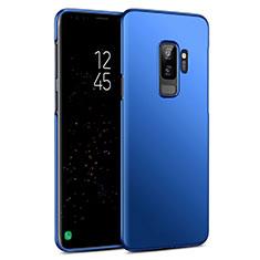 Schutzhülle Kunststoff Tasche Matt für Samsung Galaxy S9 Plus Blau