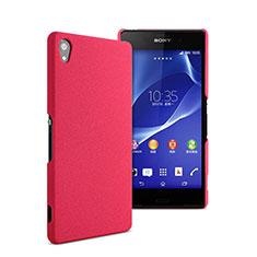 Schutzhülle Kunststoff Tasche Matt für Sony Xperia Z2 Pink