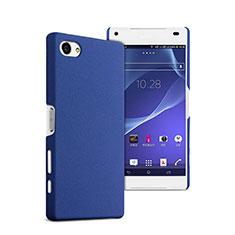 Schutzhülle Kunststoff Tasche Matt für Sony Xperia Z5 Compact Blau