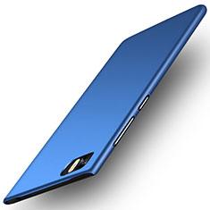 Schutzhülle Kunststoff Tasche Matt für Xiaomi Mi 3 Blau