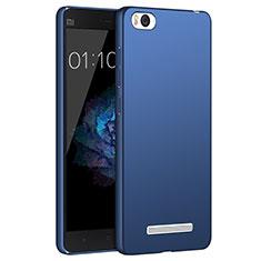 Schutzhülle Kunststoff Tasche Matt für Xiaomi Mi 4i Blau