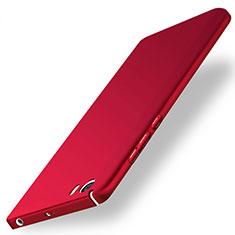 Schutzhülle Kunststoff Tasche Matt für Xiaomi Mi 5 Rot