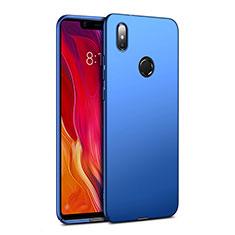 Schutzhülle Kunststoff Tasche Matt für Xiaomi Mi 8 SE Blau