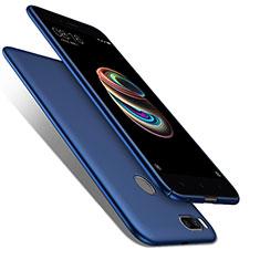 Schutzhülle Kunststoff Tasche Matt für Xiaomi Mi A1 Blau