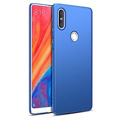 Schutzhülle Kunststoff Tasche Matt für Xiaomi Mi Mix 2S Blau