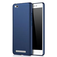 Schutzhülle Kunststoff Tasche Matt für Xiaomi Redmi 3 Blau