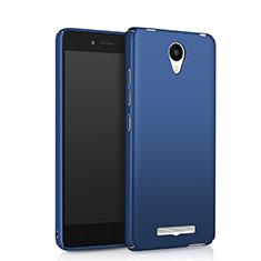 Schutzhülle Kunststoff Tasche Matt für Xiaomi Redmi Note 2 Blau
