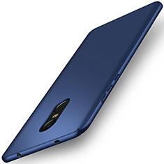 Schutzhülle Kunststoff Tasche Matt für Xiaomi Redmi Note 4X Blau