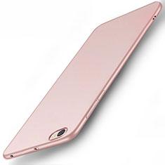 Schutzhülle Kunststoff Tasche Matt für Xiaomi Redmi Note 5A Standard Edition Rosegold