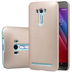 Schutzhülle Kunststoff Tasche Matt M01 für Asus Zenfone Selfie ZD551KL Gold