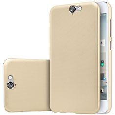 Schutzhülle Kunststoff Tasche Matt M01 für HTC One A9 Gold