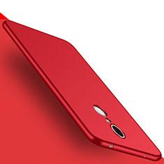 Schutzhülle Kunststoff Tasche Matt M01 für Huawei Enjoy 6 Rot