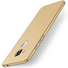 Schutzhülle Kunststoff Tasche Matt M01 für Huawei G9 Plus Gold