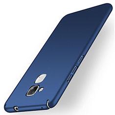Schutzhülle Kunststoff Tasche Matt M01 für Huawei Honor 7 Lite Blau
