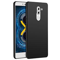 Schutzhülle Kunststoff Tasche Matt M01 für Huawei Mate 9 Lite Schwarz