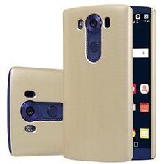 Schutzhülle Kunststoff Tasche Matt M01 für LG V10 Gold