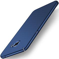 Schutzhülle Kunststoff Tasche Matt M01 für Samsung Galaxy C7 SM-C7000 Blau