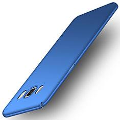 Schutzhülle Kunststoff Tasche Matt M01 für Samsung Galaxy J5 Duos (2016) Blau